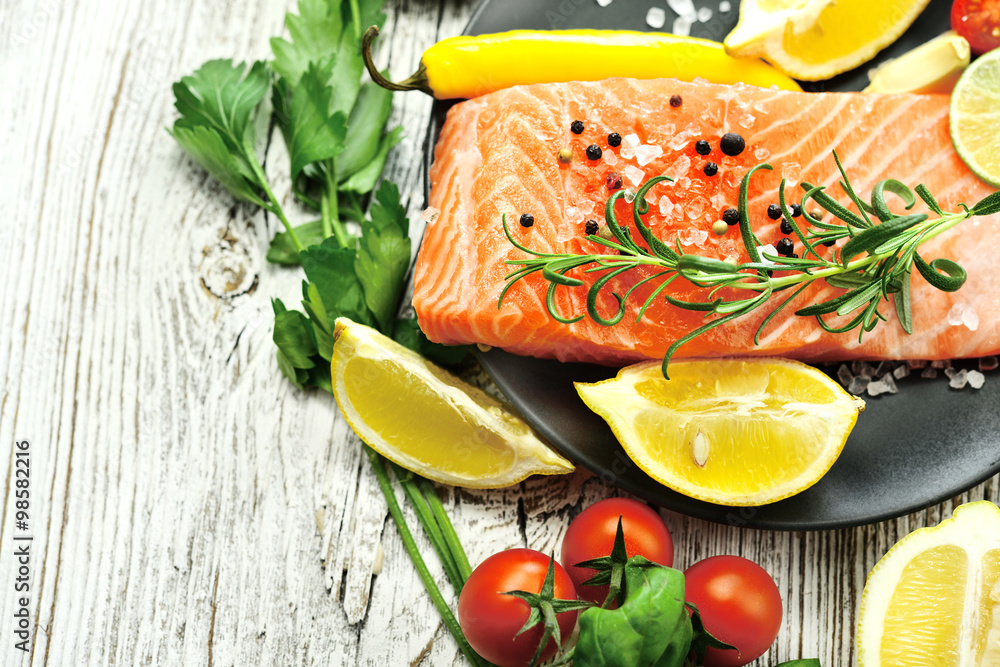 posiłek ryba kuchnia - powiększenie