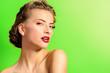 canvas print picture - spa cosmetics
