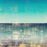 Designed background in grunge style. With different color patterns: yellow (beige); blue; cyan; white