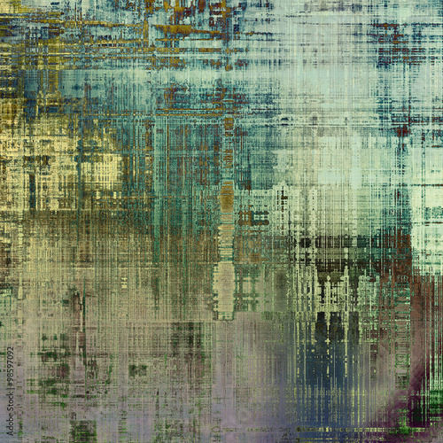 Fototapeta Grunge background or texture for your design. With different color patterns: brown; blue; green; gray