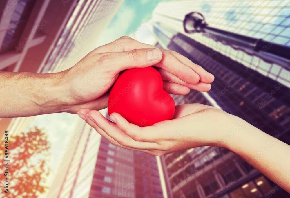 miłość ludzki zdrowie - powiększenie