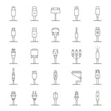 Vector Set Connectors for PC and Mobile Devices