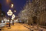 Nowy Swiat (New World) street in Warsaw. Poland - 98646665