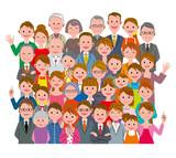 人々 集団