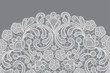 vector background with lace ornament