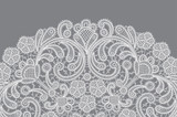 vector background with lace ornament - 98694274