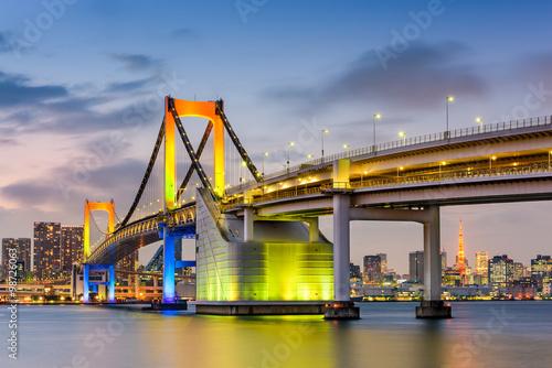 Tokyo Japan at Rainbow Bridge