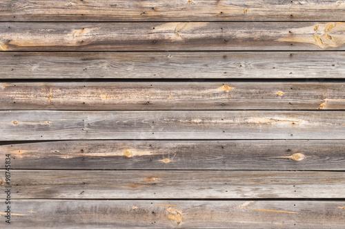 Rough Aged Wood Wall Horizontal