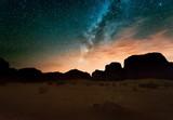 Night in Wadi Rum desert. Jordan - 98756601