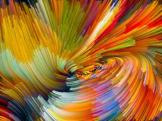 Color Vortex Composition