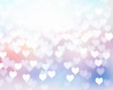 Fototapety Valentine soft color background illustration.