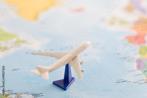 Zdjęcia 飛行機での旅