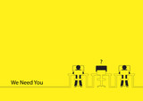 We Need You, Job vacancy, new recruitment, trainee, occupation,