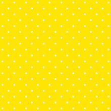 Amarillo polka dot patrón de fondo