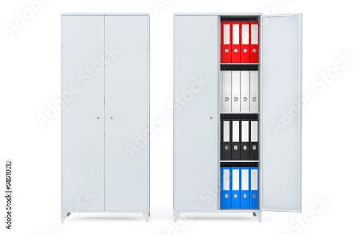 Как организовать папки с документами в шкафу