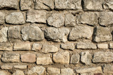 Stone Rock Wall / Texture of old rock wall for background