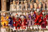 Puppet souvenir, Myanmar tradition dolls.