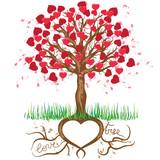 Fototapety Love Tree