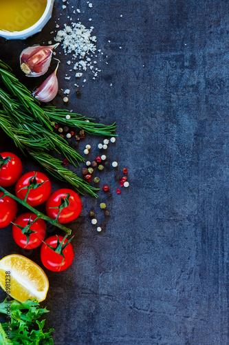 ingredients for vegetarian cooking