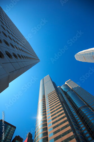 Foto op Canvas Texas Modern Buildings and Architecture
