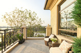 view in modern balcony - 98995235
