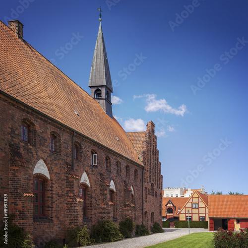 Saint Olafs church Helsingor Poster