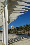 Palmeral de Las Sorpresas, pérgola, Málaga, Andalucía