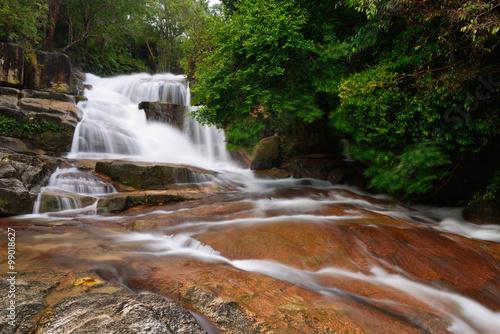 Fototapeta Chin Far Waterfall in Penang Island
