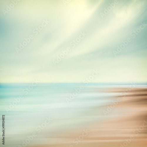 Sea and Sky Abstract - 99034872