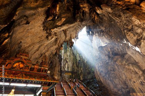 Poster Kuala Lumpur Batu Cave in Malaysia