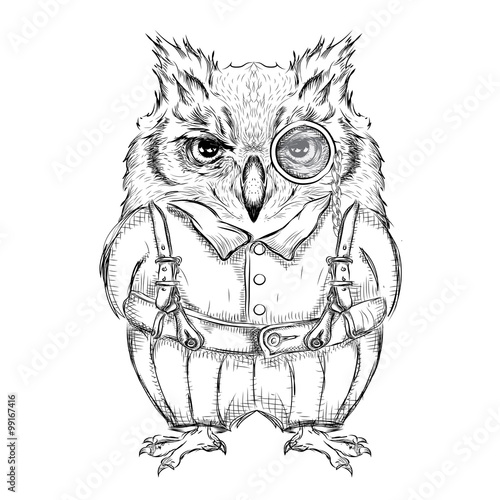 great horned owl outline coloring pages sketch coloring page