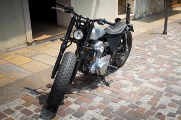 Vintage motorcycle © albertobrian