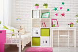 Fototapety bedroom for child girl