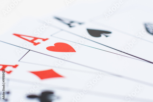 Poster ace of hearts