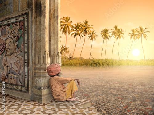 Foto Murales Summer in India.