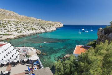 Zatoka na Majorce - hotele i jachty