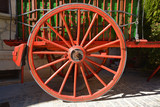 rueda de una carreta