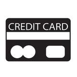 Credit Card Icon symbol Illustration design