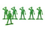 Green Plastic Military Toys Wall Sticker