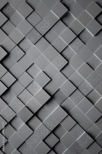 aluminium-cubic-tile-background