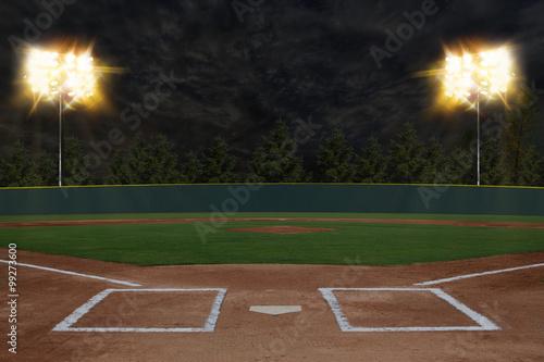 Foto op Aluminium Bol Baseball Stadium