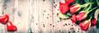 Obrazy na płótnie, fototapety, zdjęcia, fotoobrazy drukowane : Bouquet of red roses with decorative heart. St Valentine's conce