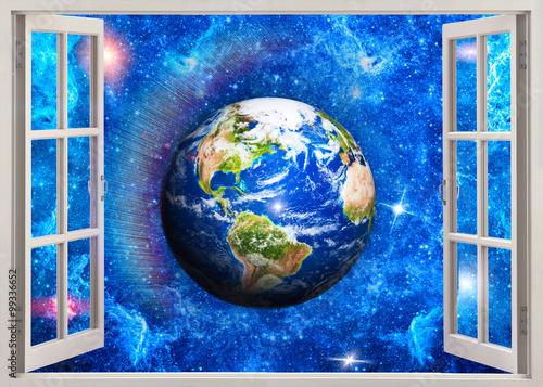 Fototapeta Open window to Space
