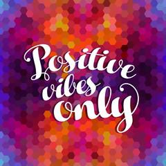 Cytat kolorowe tło pozytywnej inspiracji