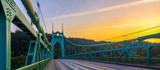 St. John's Bridge in Portland Oregon, USA - 99390018