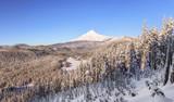 Beautiful Winter Vista of Mount Hood in Oregon, USA. - 99390096