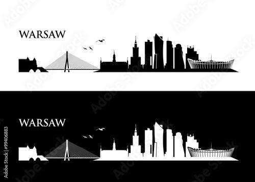Warsaw skyline