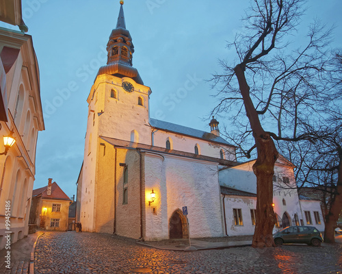 Cathedral of St Mary the Virgin or Dome Cathedral in the Toompea