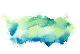 Abstract watercolor background. - 99502215