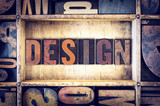 Design Concept Letterpress Type